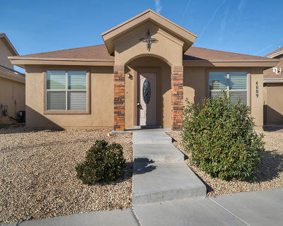 Single Family Home For Sale: 4009 Hueco Valley Drive