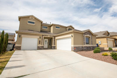 El Paso Single Family Home For Sale: 14652 Alton Oaks