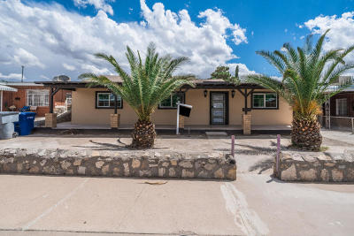 El Paso Single Family Home For Sale: 6404 Navajo Avenue