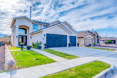 El Paso Single Family Home For Sale: 6544 Geyser Drive