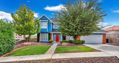 El Paso Single Family Home For Sale: 6553 Majestic Ridge Drive