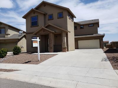 El Paso Single Family Home For Sale: 5620 Jim Castaneda Drive