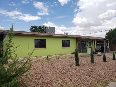 El Paso Single Family Home For Sale: 5909 Sabine Court