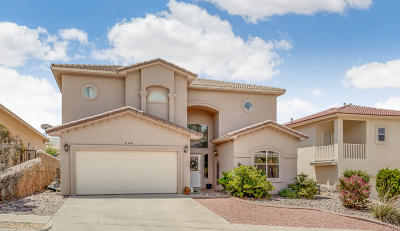 El Paso Single Family Home For Sale: 6340 Franklin Gate Drive