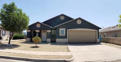 Socorro Single Family Home For Sale: 502 Villas Del Valle Drive