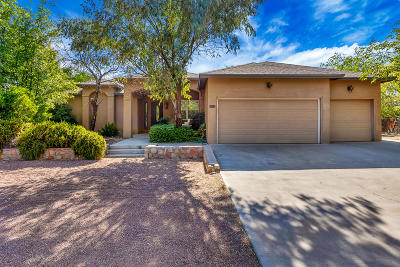 El Paso Single Family Home For Sale: 5555 Cory Drive