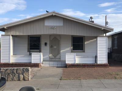 El Paso Single Family Home For Sale: 3518 Louisville Avenue