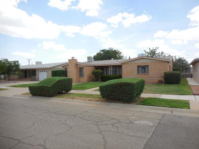 El Paso Single Family Home For Sale: 1515 Clausen Drive