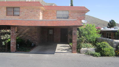 El Paso Condo/Townhouse For Sale: 5030 Alabama Street #6