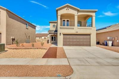 El Paso Single Family Home For Sale: 14219 Charles Pollock Avenue