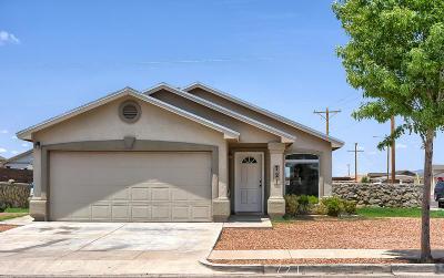 Socorro Single Family Home For Sale: 721 Villas Del Valle Drive