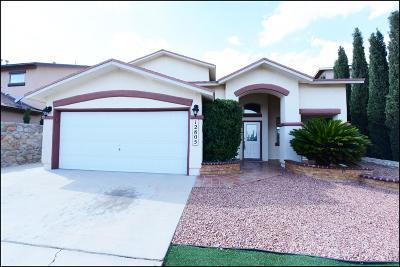 El Paso Single Family Home For Sale: 12805 Tierra Lince Drive