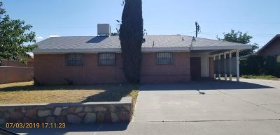 El Paso Single Family Home For Sale: 2705 Hawick Road