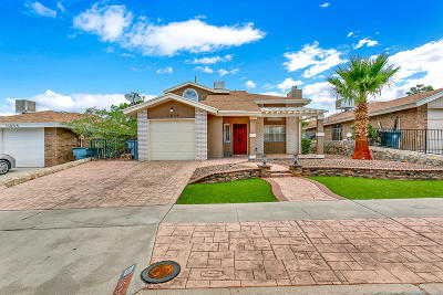 Vista Del Sol Single Family Home Pending Accepting Offers: 11839 Stephanie Drive