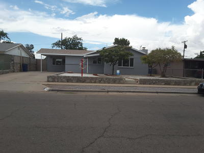 El Paso Single Family Home For Sale: 10157 Bermuda Avenue
