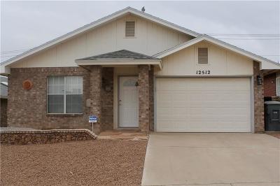 Horizon City Rental For Rent: 12512 Flora Alba Drive