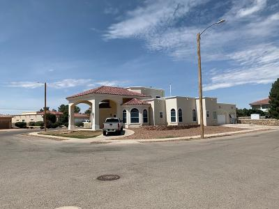 El Paso Single Family Home For Sale: 711 Maxey Marie Drive