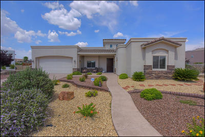 El Paso Single Family Home For Sale: 6329 Franklin Crest Drive