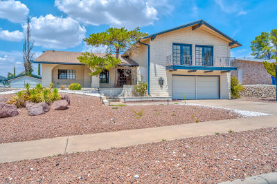 El Paso Single Family Home For Sale: 6417 Pino Real Dr. Drive