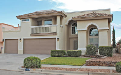 El Paso Single Family Home For Sale: 2013 Sun Chariot Street