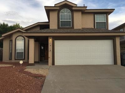 Vista Del Sol Single Family Home For Sale: 1312 Clay Basket