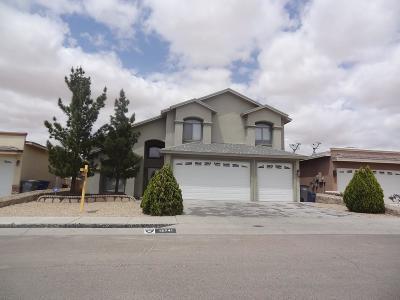 El Paso Single Family Home For Sale: 12741 Tierra Roman