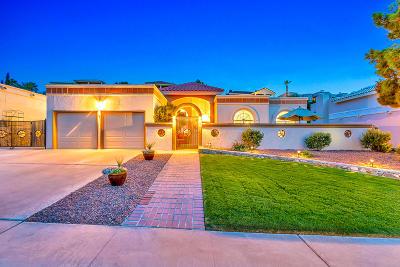 El Paso Single Family Home For Sale: 6416 Loma De Cristo Drive