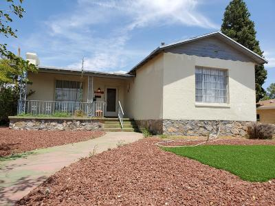 El Paso Single Family Home For Sale: 2601 Savannah Avenue