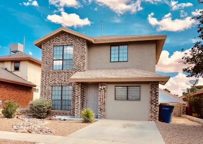 El Paso Single Family Home For Sale: 11745 Queens Garden Circle