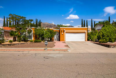El Paso Single Family Home For Sale: 832 Dulce Tierra Drive