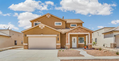 El Paso Single Family Home For Sale: 7751 Enchanted Path Drive