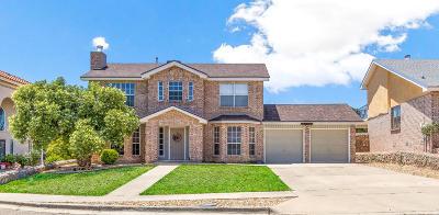 El Paso Single Family Home For Sale: 4404 Loma De Oro