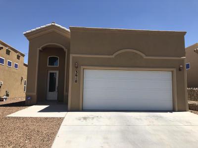 El Paso Single Family Home For Sale: 3618 Grand Bahamas Drive