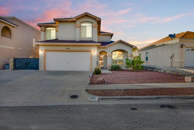 El Paso Single Family Home For Sale: 6321 Franklin Ridge Drive