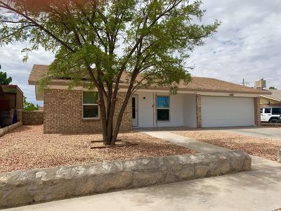 El Paso Single Family Home For Sale: 11404 Bunky Henry Lane