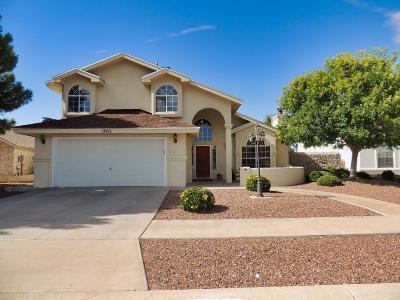 Horizon City Single Family Home For Sale: 13913 Blooming Desert Drive