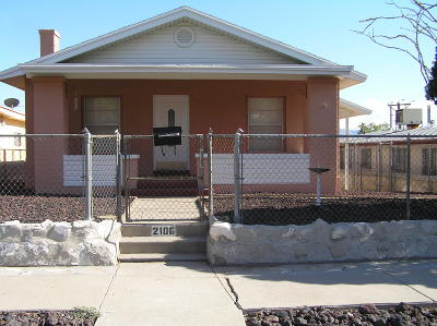 Single Family Home For Sale: 2106 Tremont Avenue