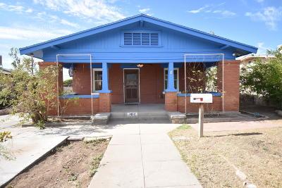 El Paso Single Family Home For Sale: 3912 Monroe Avenue
