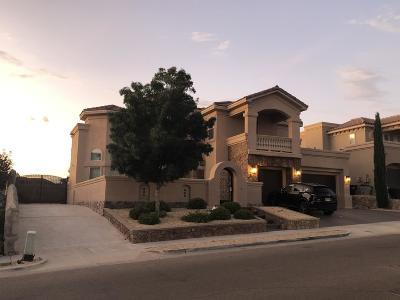 El Paso Single Family Home For Sale: 6227 Franklin Dove Avenue