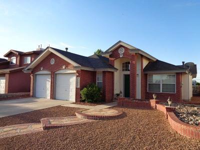 El Paso Single Family Home For Sale: 11412 Arrow Rock Drive