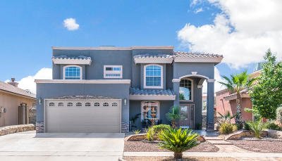 El Paso Single Family Home Pending Accepting Offers: 3213 Tierra Palma Drive