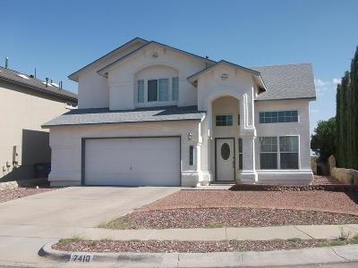 El Paso Single Family Home For Sale: 7410 Camino Del Sol Drive