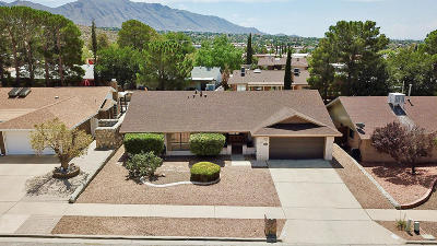 El Paso Single Family Home For Sale: 832 Tepic Drive