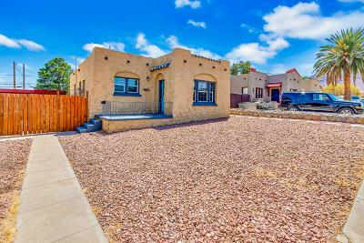 El Paso Single Family Home For Sale: 3514 McKinley Avenue