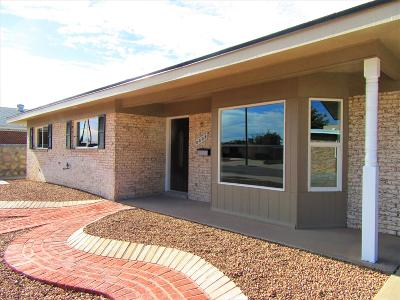El Paso Single Family Home For Sale: 8004 Bethany Drive