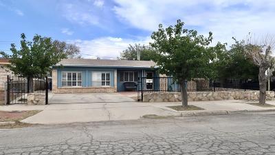 El Paso Single Family Home For Sale: 7113 Lemon Tree Lane