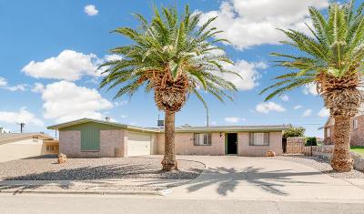 El Paso Single Family Home For Sale: 6416 Regal Lane
