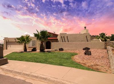 El Paso Single Family Home For Sale: 6525 Amposta Drive