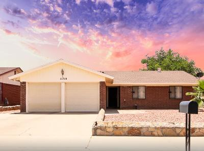 Vista Del Sol Single Family Home For Sale: 11710 Jim Thorpe Drive