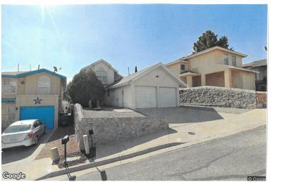 El Paso Single Family Home For Sale: 6818 Ridgley Way